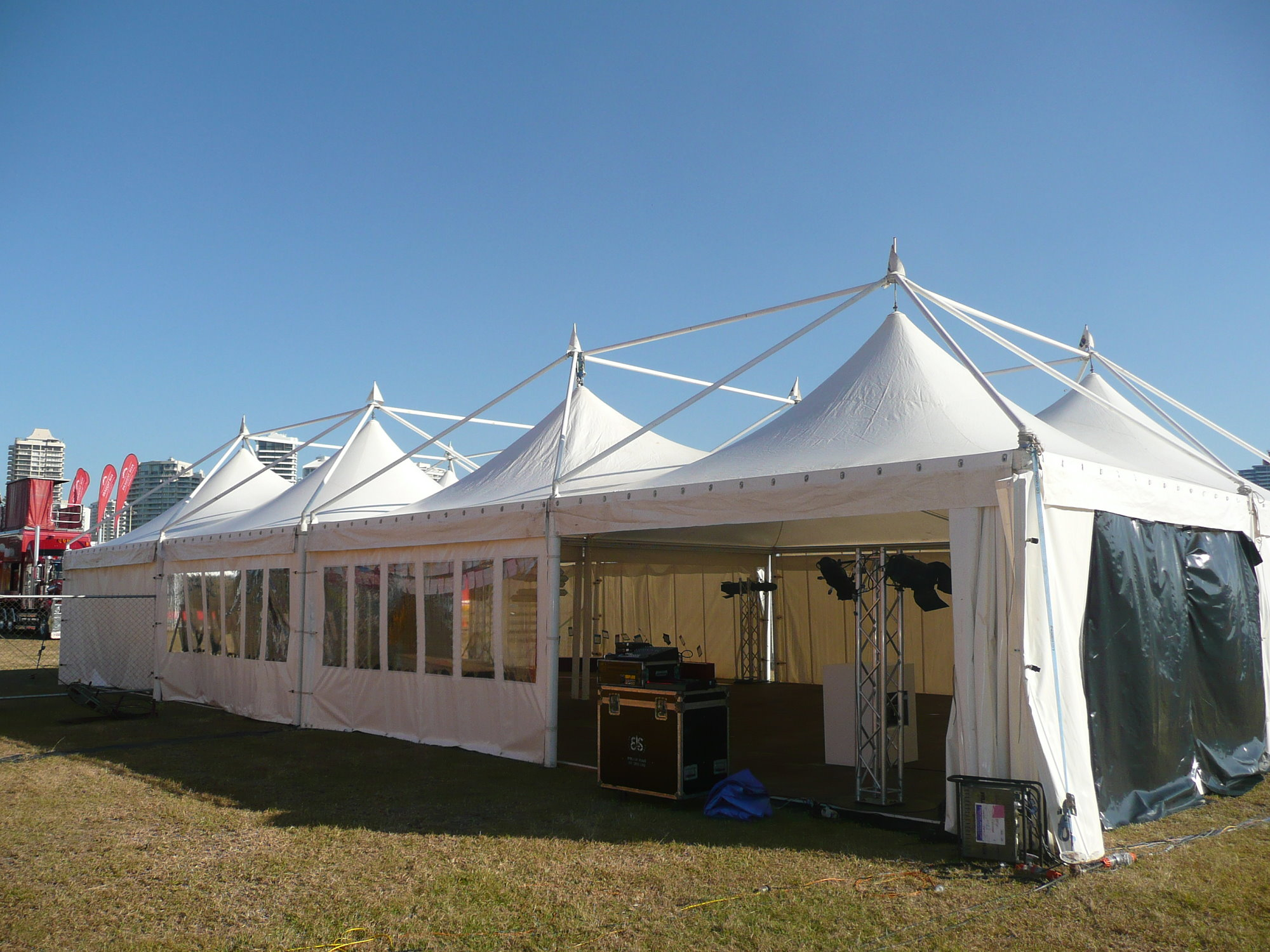 Prestige Marquee Exterior With Window Walls