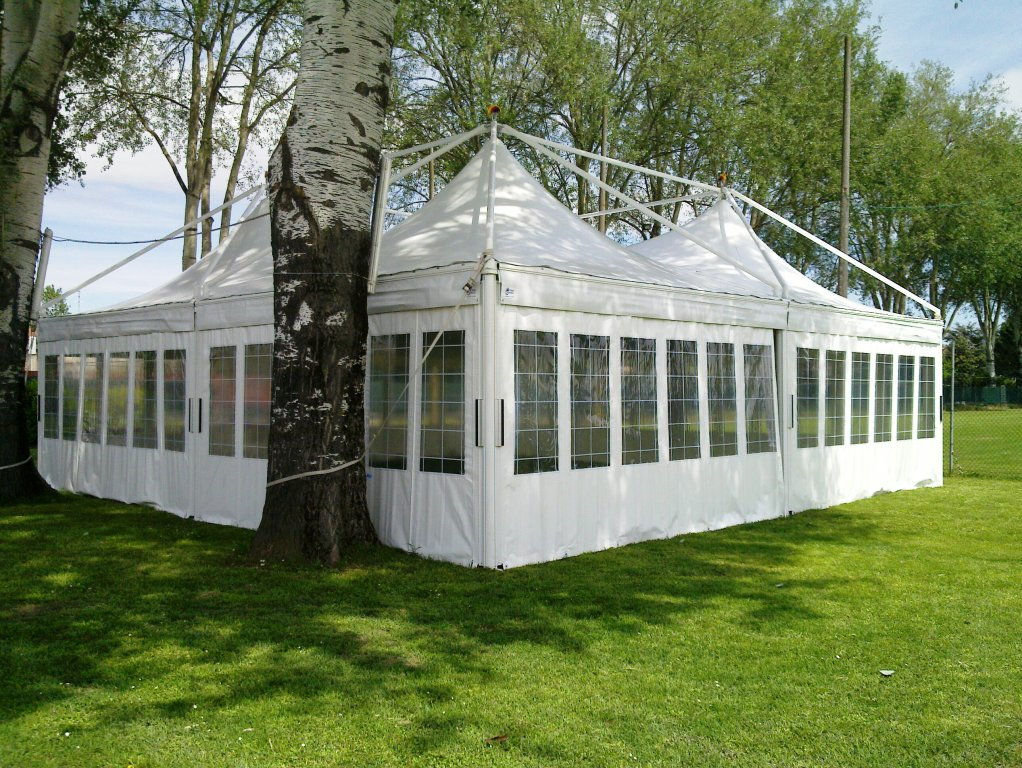 Prestige Marquee 10 x 10 Exterior With Window Walls