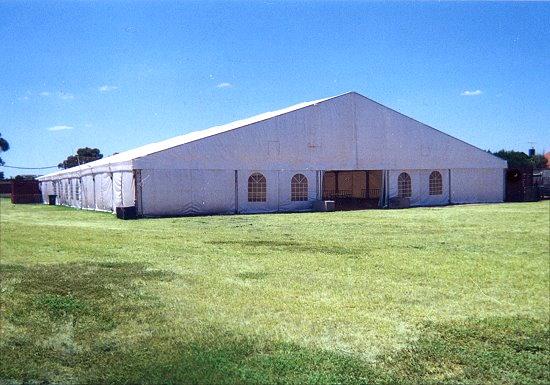 Pavilion Exterior 25 x 50m