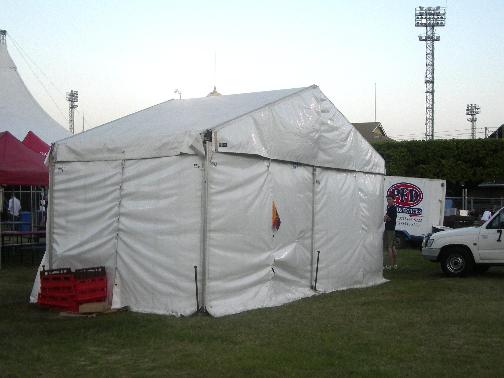 Pavilion 15 x 20 Exterior