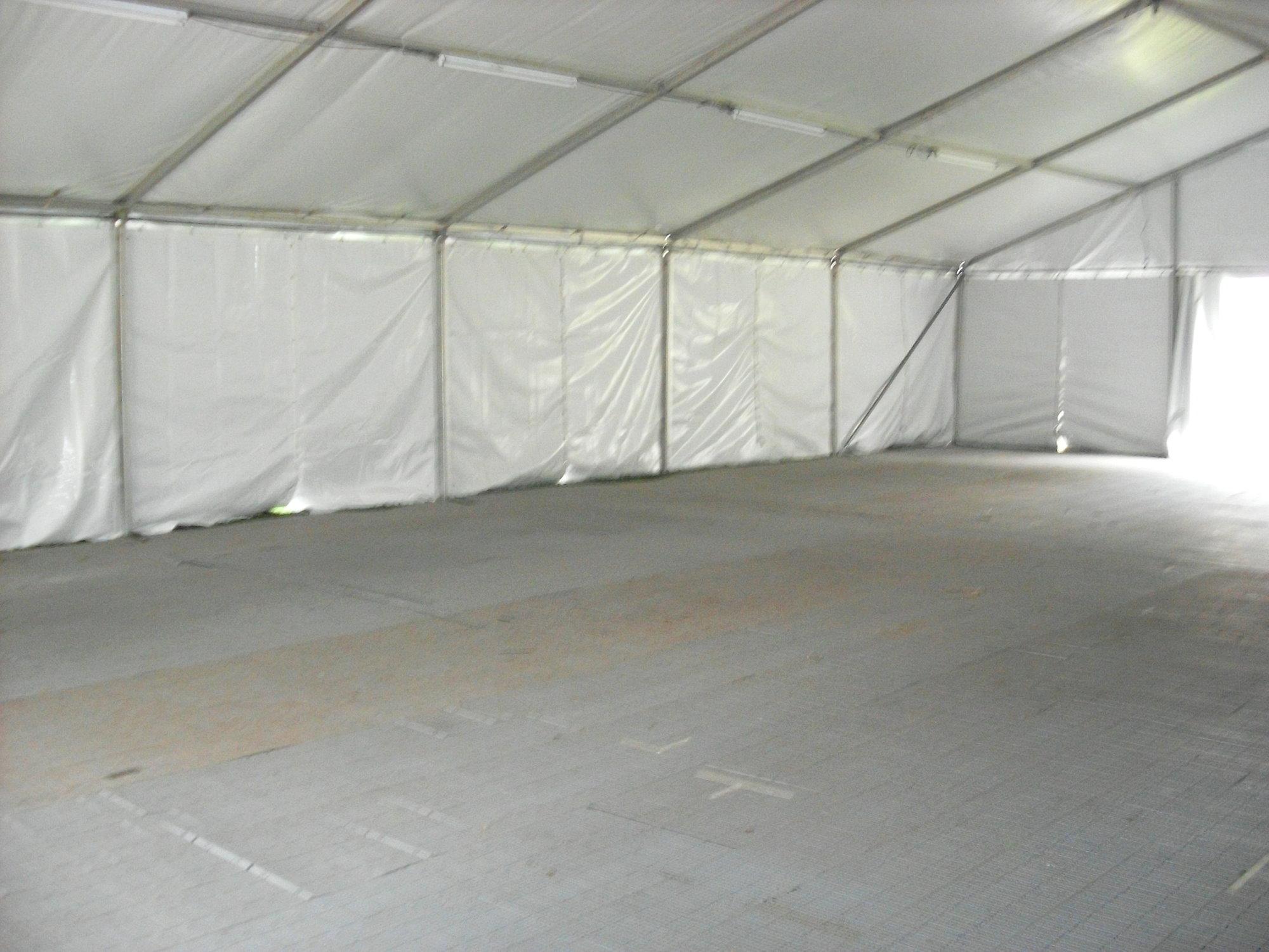 Pavilion Interior with Plastic Profloor
