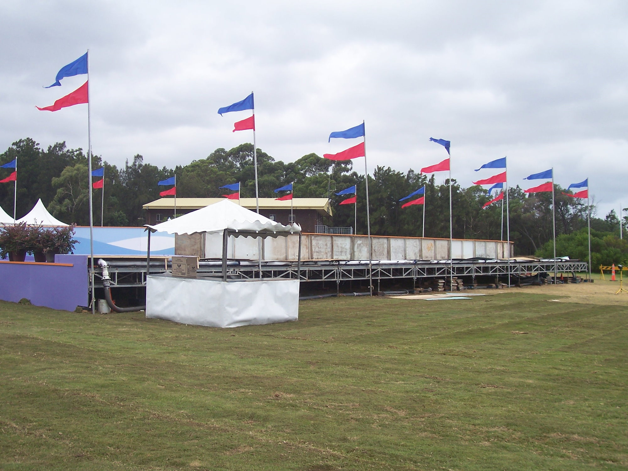 Ice Rink Staging